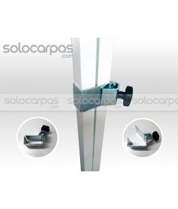 Pieza brida para unión CarpaPro Basic