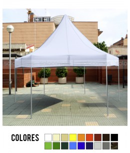 Carpa plegable CarpaPro Classic Hex. de 5 m