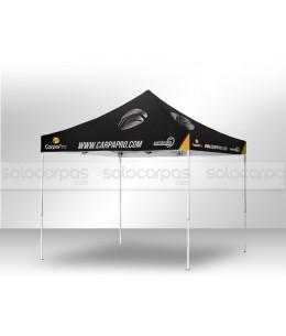 Carpas plegables personalizadas CarpaPro™ Basic ACERO 3x3 m
