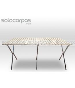 Mostrador / mesa plegable