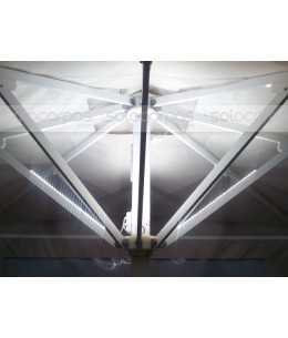 Kit iluminación LED parasoles Maestro y SunPro