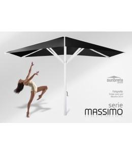 Parasoles y sombrillas profesionales para terrazas de cafeterías, bares y hostelería - Massimo