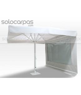 :: Cerramiento paredes de parasoles