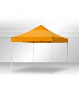 Carpas plegables CarpaPro™ Basic de 3x3 m color NARANJA